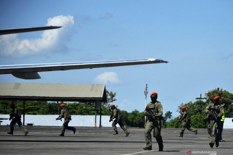 AP I-TNI AU gelar simulasi paksa pesawat asing mendarat di bandara RI