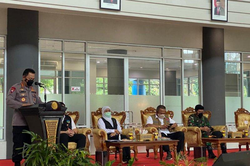 Kapolri perintahkan Polres Kediri bantu cegah kenaikan kasus COVID-19