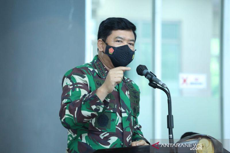 Panglima TNI-Kapolri gelar rapat penanganan COVID-19 di Kediri