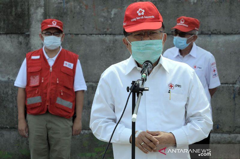 Jusuf Kalla: PMI harus ada di garis terdepan dalam penanganan bencana