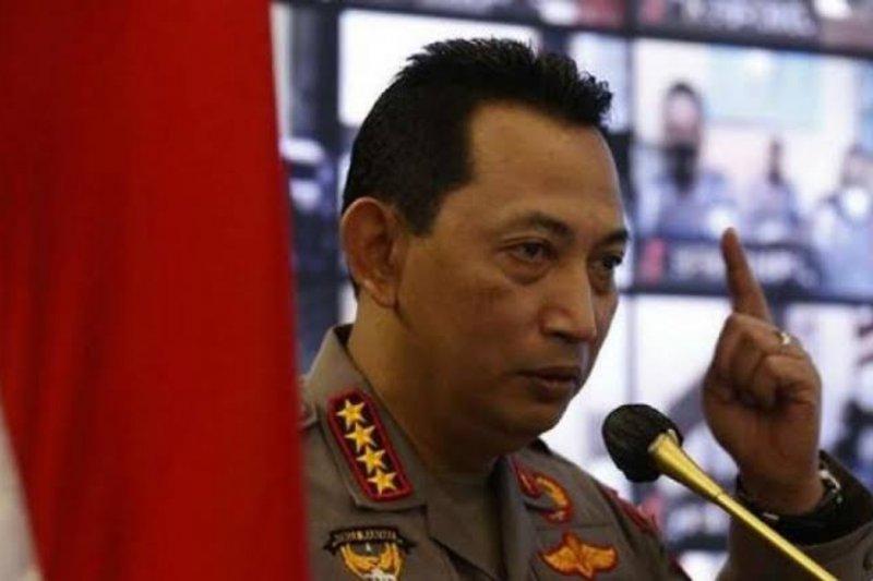 Kapolri minta TNI-Polri perkuat PPKM Mikro di Lamongan