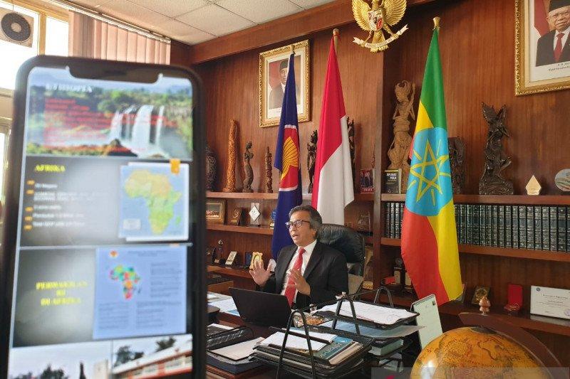 Dubes RI: Diplomasi digital di Ethiopia alami perkembangan pesat