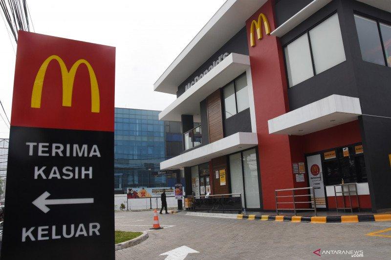 Sebanyak 21 gerai McDonald's di Jakarta ditutup sementara