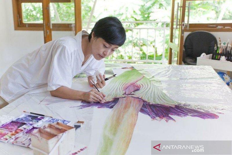 Alumnus UNS ikut ambil peran lestarikan lingkungan lewat seni lukis