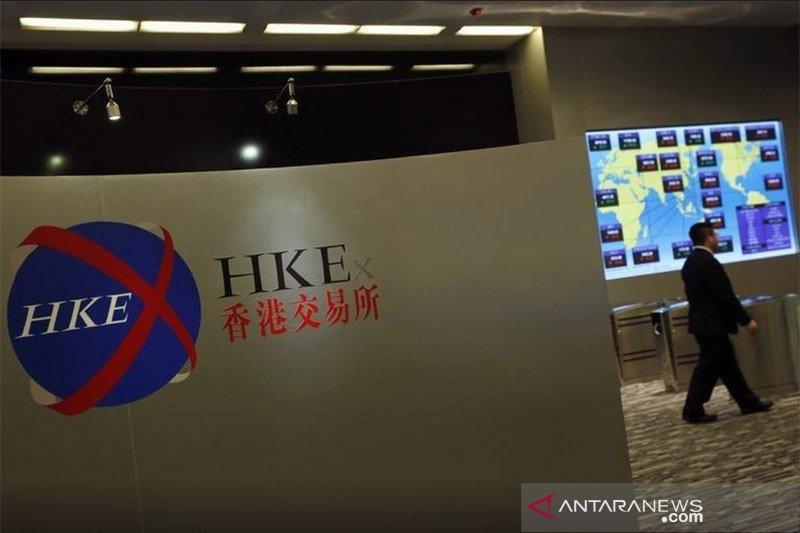 Saham Hong Kong ditutup naik, ikuti penguatan bursa Asia