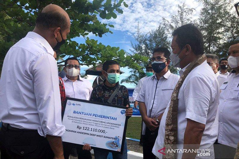 KKP kucurkan bantuan untuk kelompok konservasi di Sumatera Barat