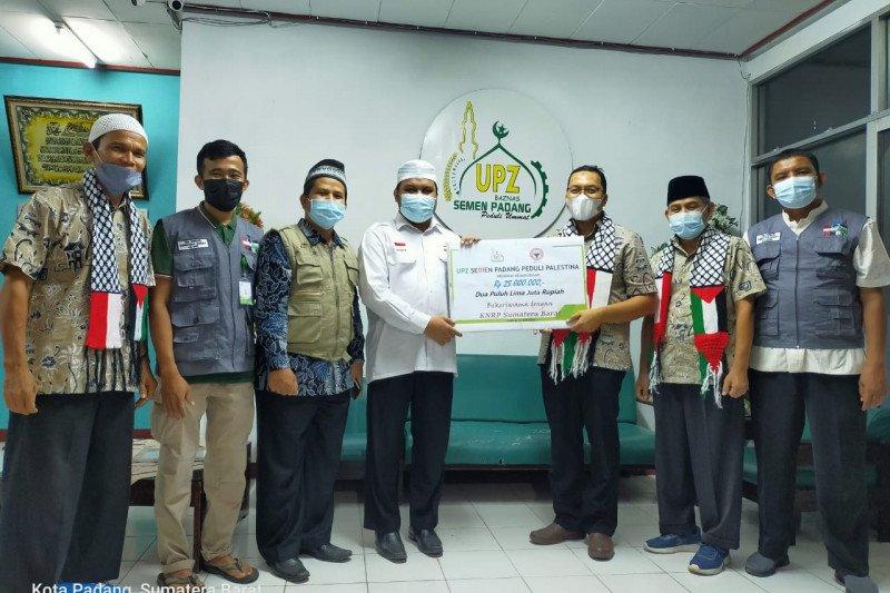 Baznas Semen Padang salurkan bantuan untuk Palestina