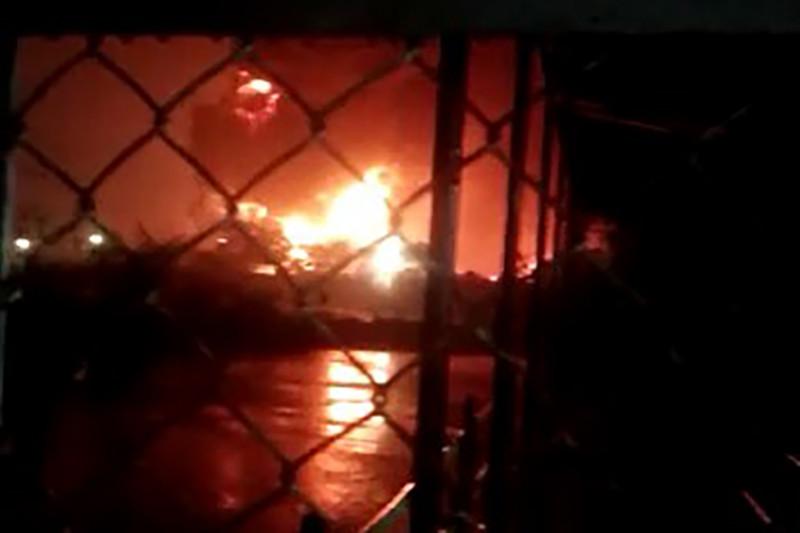 Pertamina Cilacap lakukan upaya pengendalian kebakaran tangki