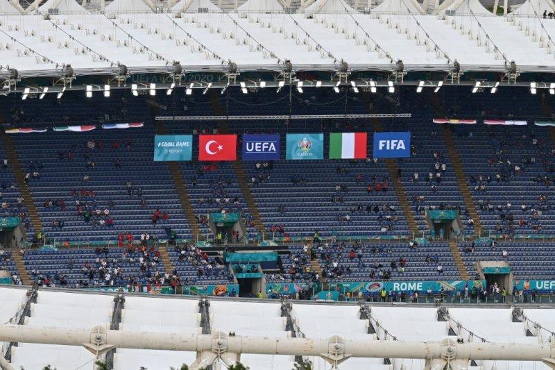 Susunan pemain Turki lawan Italia