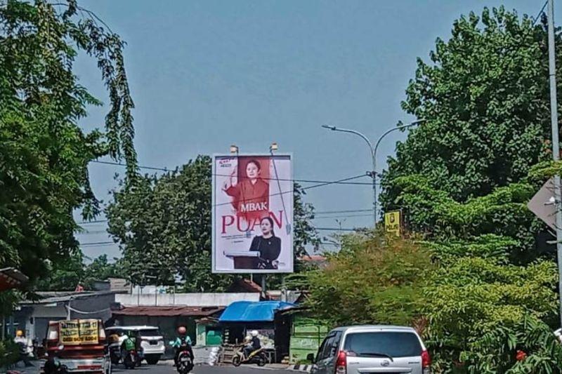 Pengamat: Baliho Puan Maharani pertanda menuju Pilpres 2024