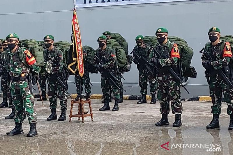 400 prajurit Yonif 315/Garuda amankan Papua selama 9 bulan