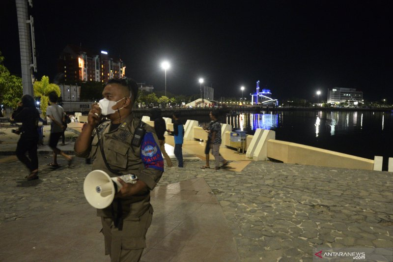 Pembatasan jam malam kembali berlaku di Makassar