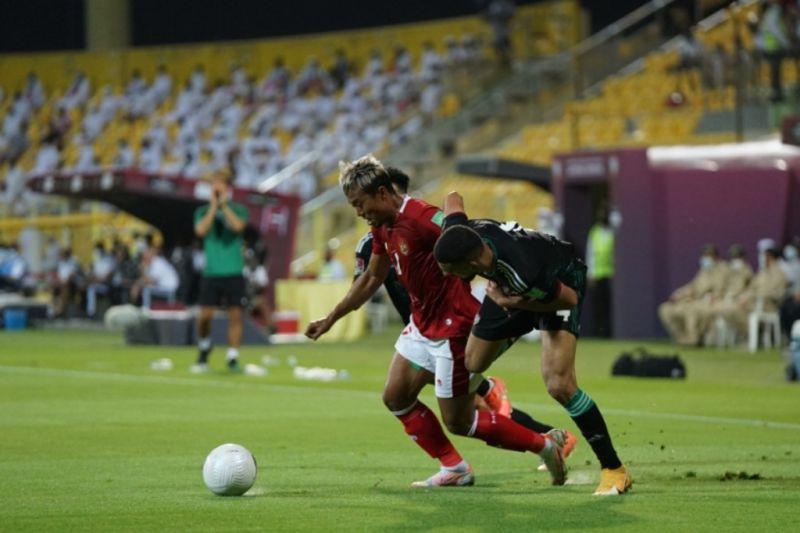 Indonesia akhiri Kualifikasi Piala Dunia dengan kalah 0-5 dari UEA