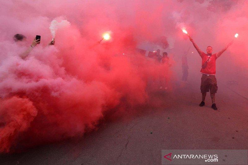 Aksi suporter semarakkan Euro 2020