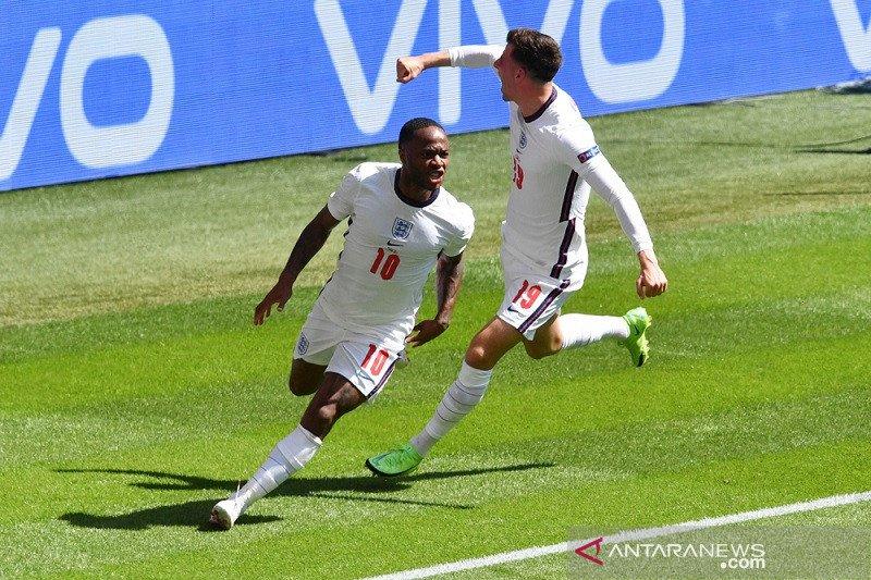 Sterling wujudkan ambisi cetak gol di Wembley dalam turnamen bergengsi