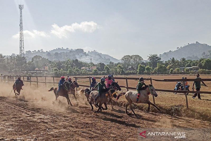 Menparekraf upayakan tradisi pacuan kuda di Bima masuk wisata nasional