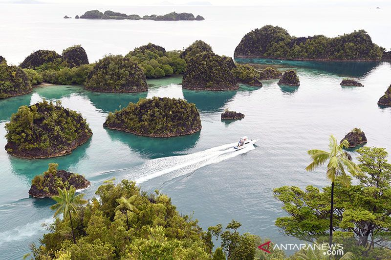 KKP sosialisasi aturan pemanfaatan ruang laut Raja Ampat