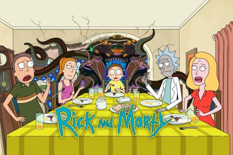 PosterH Rick and Morty S5 HBO GO 3