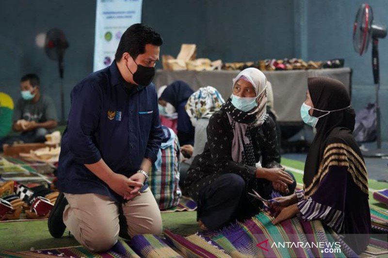 Erick Thohir dorong BUMN perbesar atensi bagi pelajar dan perempuan
