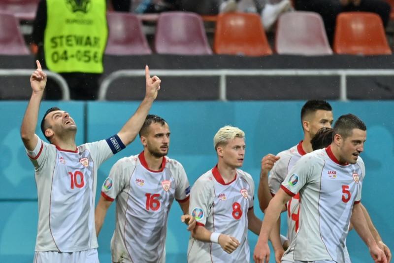 Gol bersejarah Goran Pandev paksa Austria sementara seri 1-1