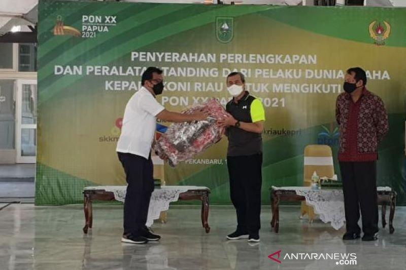 PTPN V bantu Rp85,25 juta untuk atlet Taekwondo Riau ke PON XX Papua