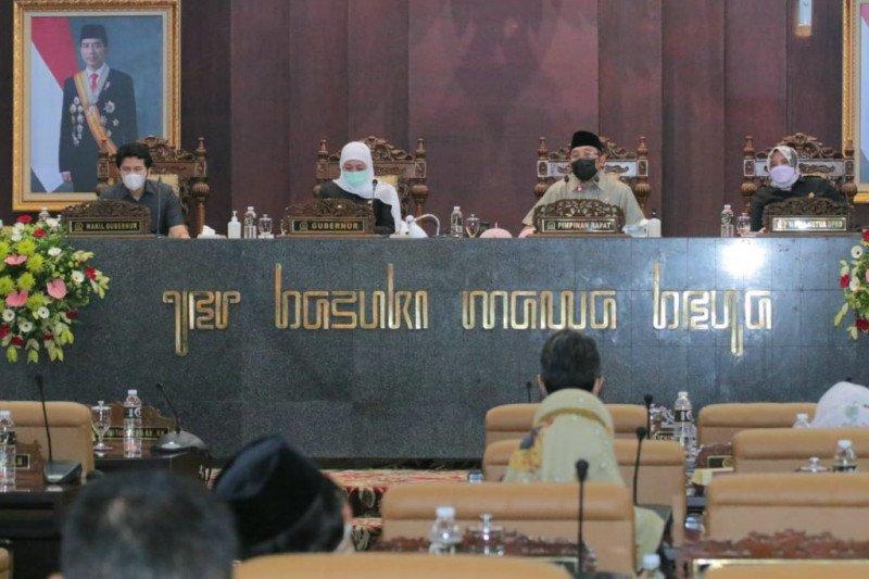 Gubernur Jatim: Realisasi pendapatan daerah 2020 capai 104,94 persen