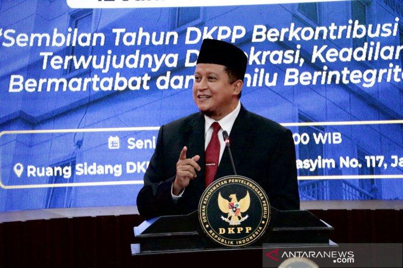 Ketua DKPP harap sidang etik pemilu dapat kembali digelar tatap muka