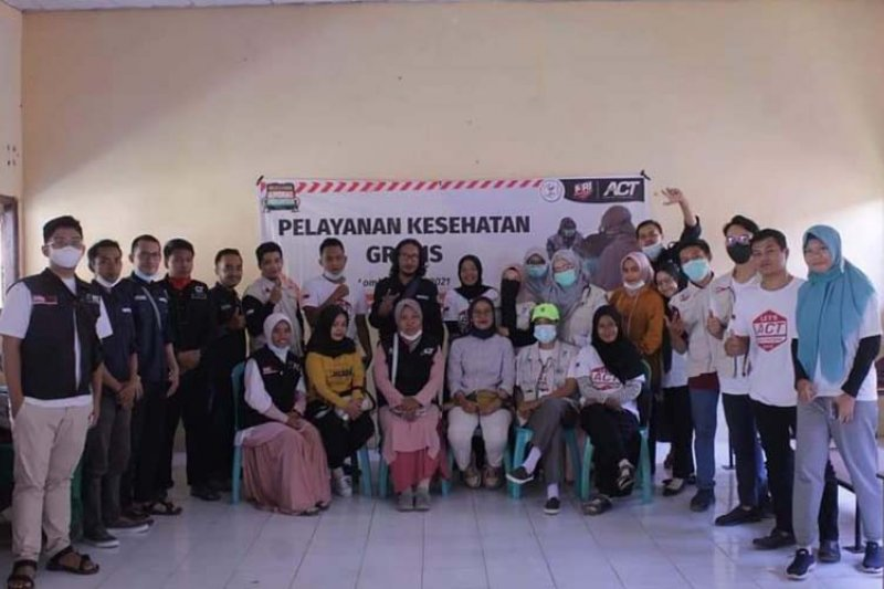 Layanan kesehatan gratis di kaki Gunung Rinjani dibuka ACT NTB