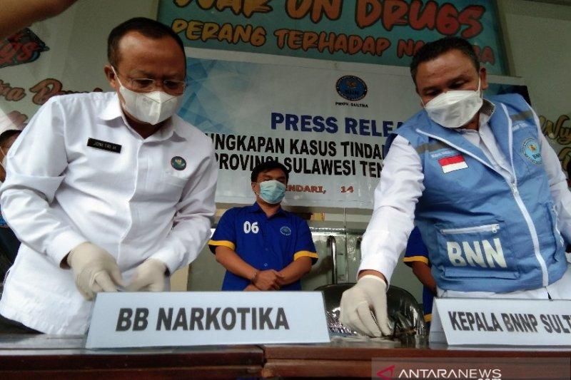 BNN Sultra ungkap tiga pengedar sabu-sabu, dua jaringan lapas