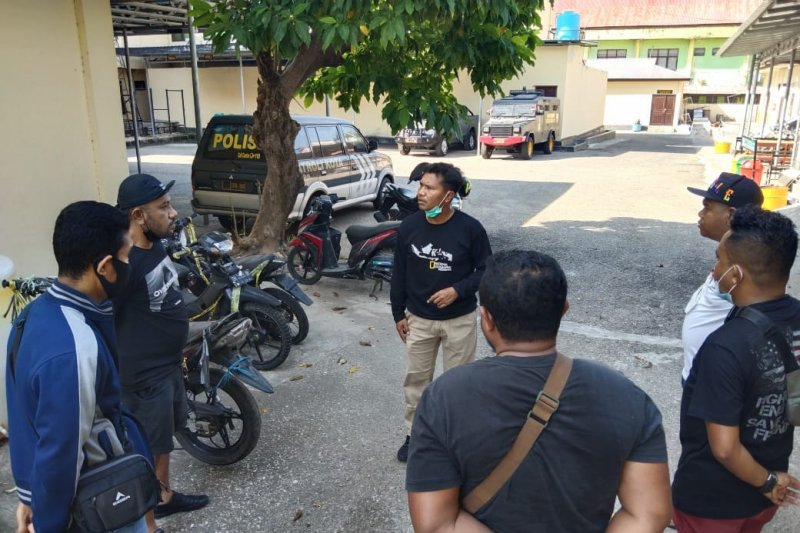 Polisi tangkap preman yang melawan aparat kepolisian saat ditegur