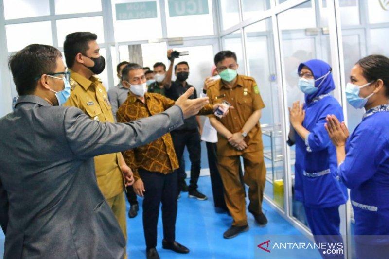 Pemkot Medan: Tingkat hunian tempat tidur COVID-19 di atas 50 persen