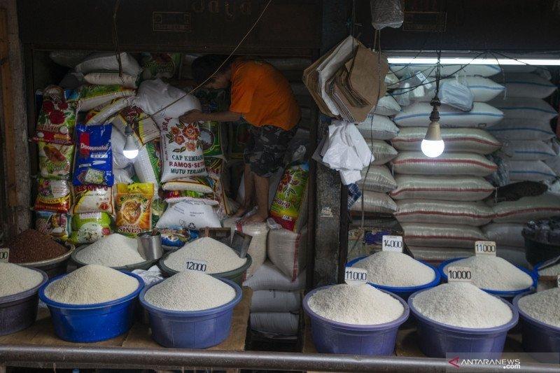 Stok beras di Pasar Induk Cipinang capai 40 ribu ton jelang HUT RI