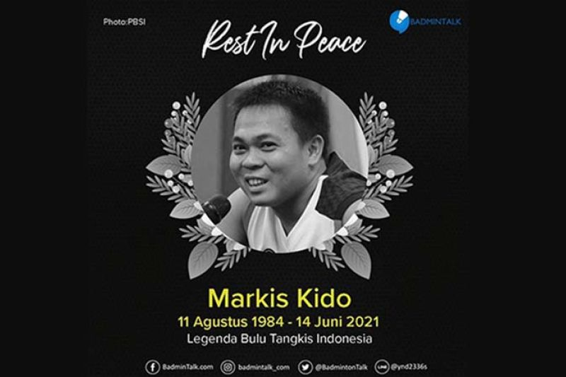 Eks pebulu tangkis nasional Markis Kido meninggal dunia