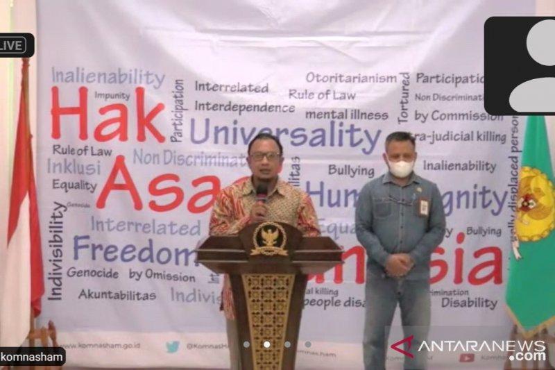 Komnas HAM sebut Pimpinan KPK penuhi panggilan pada Kamis