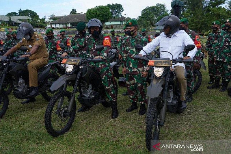 Kodam Kasuari Papua Barat resmi terima 134 kendaraan dinas baru