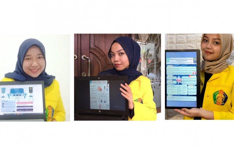Vokasi UI juara pertama lomba poster ikatan fisioterapi Indonesia