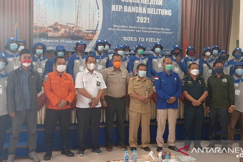 Nelayan di Bangka diberi edukasi informasi iklim BMKG pusat