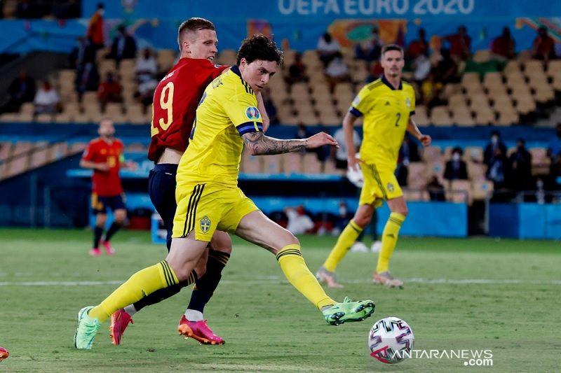 Euro 2020 – Satu poin bagi timnas Swedia lebih penting dibanding statistik lawan Spanyol