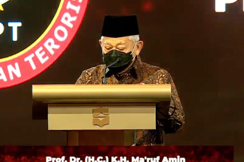 Ma'ruf Amin: Lawan radikalisasi hadapi tantangan globalisasi-teknologi