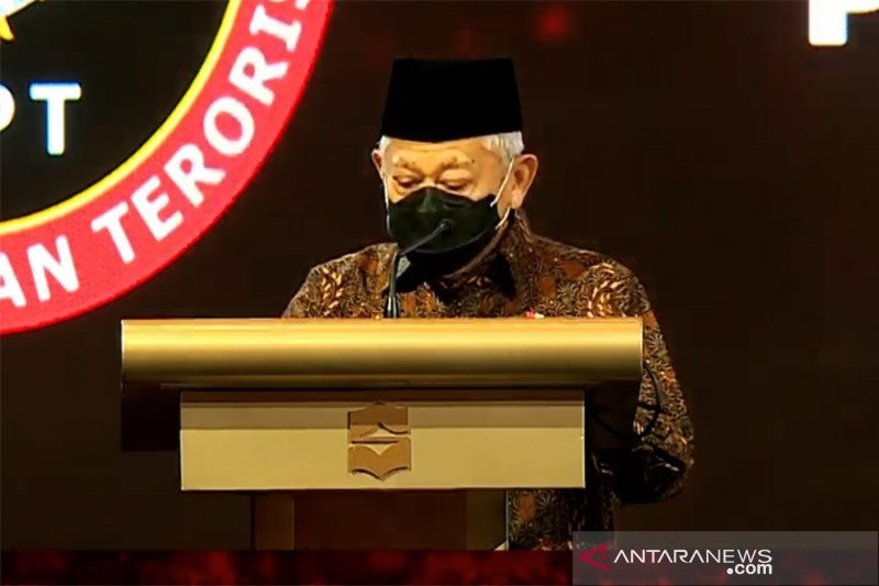 Ma'ruf Amin ingatkan ancaman radikalisme bermetamorfosis