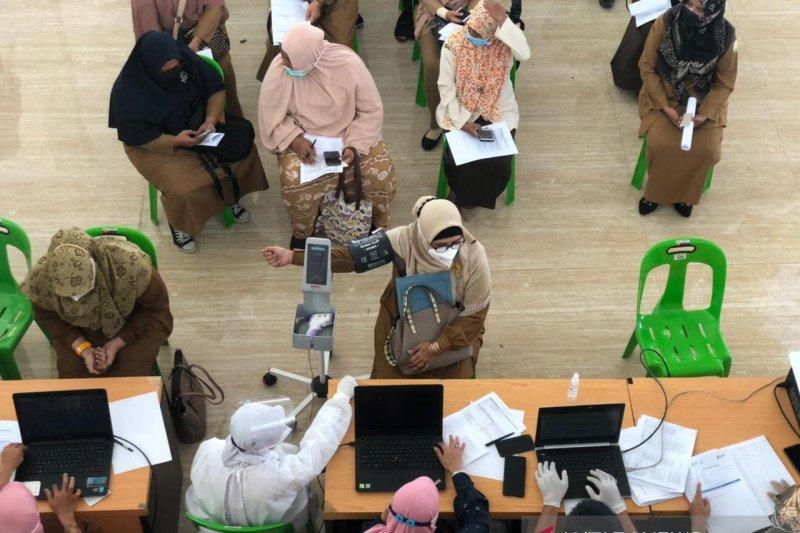 Tiga daerah di Aceh zona merah COVID, testing dan tracing digencarkan