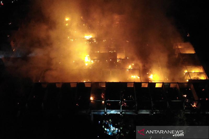 Kebakaran Pasar Umum Blahbatuh di Gianyar Bali