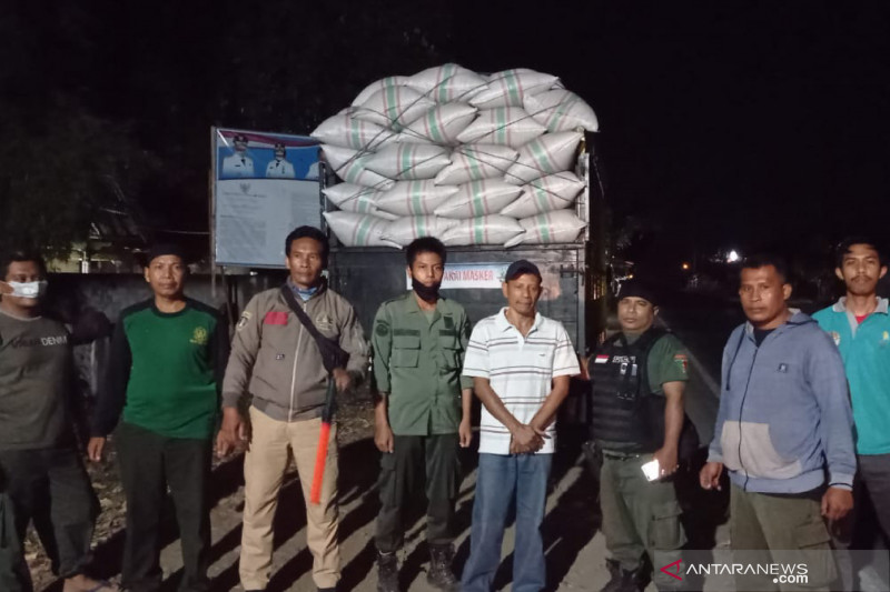 Polhut NTB mengungkap modus penyelundupan kayu diduga hasil perambahan