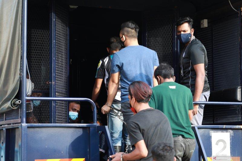 Lima WNI ditahan dalam operasi penertiban di Malaysia