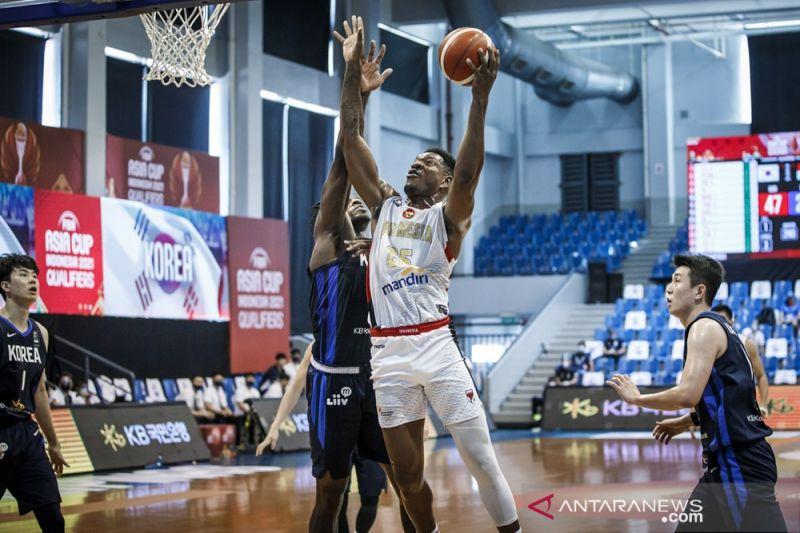Indonesia takluk 81-104 dari Korsel di kualifikasi FIBA Asia Cup 2021