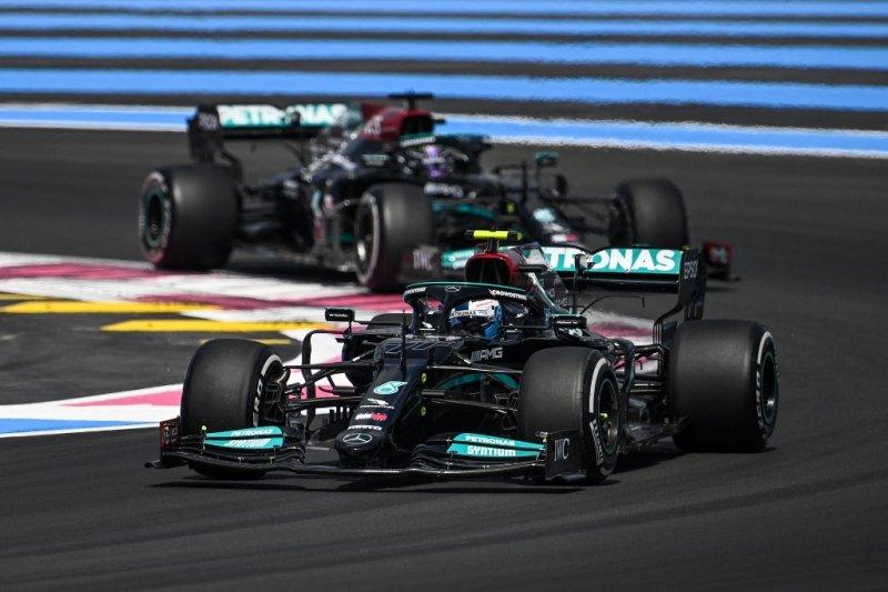 Bottas pimpin finis 1-2 Mercedes di FP1 Grand Prix Prancis