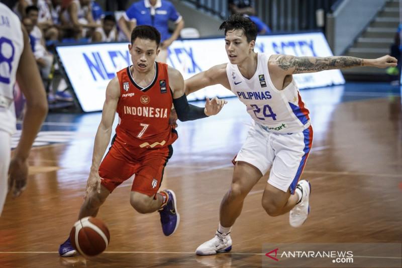 Indonesia kalah 51-76 dari Filipina di kualifikasi FIBA Asia Cup 2021