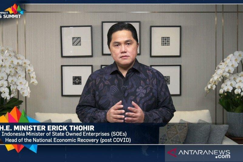 Erick Thohir tegaskan sinergi ciptakan peluang di tengah pandemi