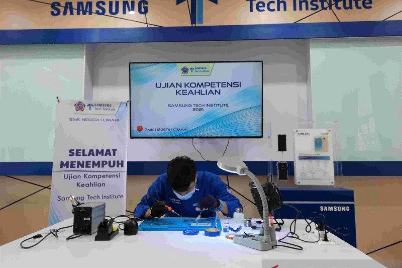 Samsung Tech Institute helat Uji Kompetensi Keahlian di 30 SMK