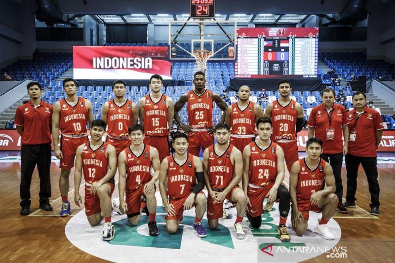 Indonesia tak gentar meski dikepung tim kuat di FIBA Asia Cup 2021